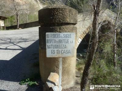 Montfalcó,Mont-rebei-Noguera Ribagorzana-Semana Santa; rascafria camino del rey aneto